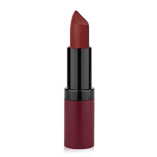 Golden Rose Velvet Matte Lipstick, 22 Roof Terracotta Red