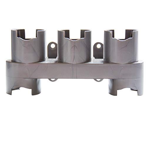 Dockingstation Wandhalterung Staubsaugerkopf Organisieren Speicherhalter für Dyson V7 V8 V10 Staubsauger Zubehörhalter um alle Ihre Dyson Zubehör an einem Ort zu halten