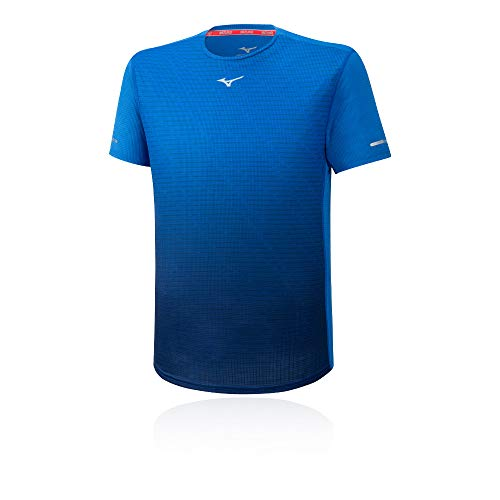 Mizuno Herren Aero T-Shirt, Princess Blue, XL