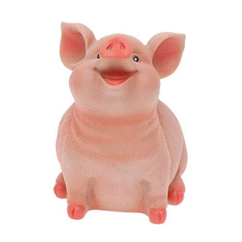 HEALLILY Piggy Coin Bank Resin Pig …