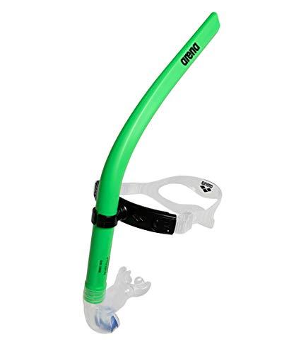 ARENA Swim Snorkel III, Unisex-Adult, Verde, tamaño único