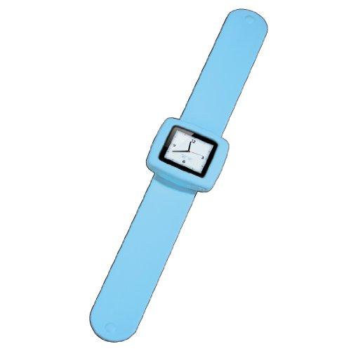 Hama Fancy Beat - Accesorio para MP3 (Apple iPod nano 6G, Silicona, Azul)