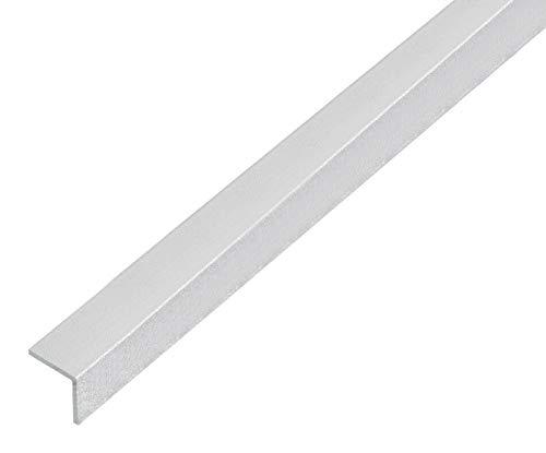 GAH-Alberts 489229 Winkelprofil | selbstklebend | Aluminium, kugelgestrahlt silber | 1000 x 10 x 10 mm
