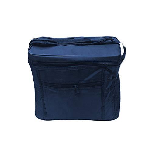 Qinghengyong Carrier Bag Pranzo Cooler Bag Isolamento Pieghevole da Picnic Ghiaccio Portatile Pacco Alimentare Termica Borsa Drink Food Delivery