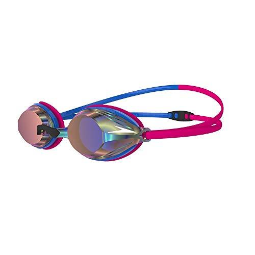 Speedo Vengeance Mirror Gafas de natación, Adult Unisex, Azul/Rosado, Talla única