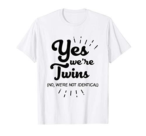 Gemelos Compañeros Hermanos gemelos Camiseta