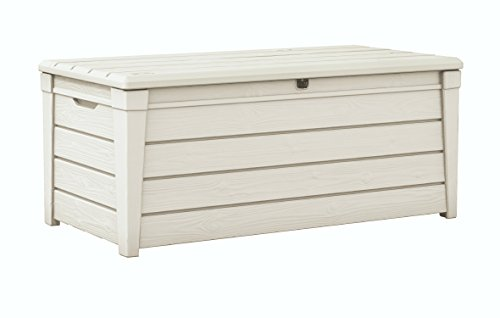 Keter Baule Pool Box Bianco In Resina 454 Lt Cm 145X69.7X60.3 H