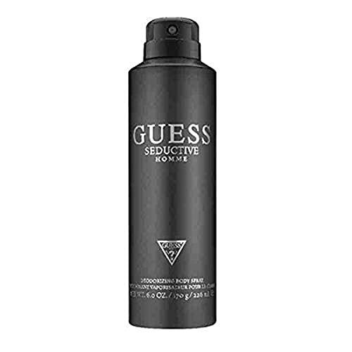 GUESS Seductive Homme Deodorizing Body Spray for Men, Oriental, 6 Fl Oz