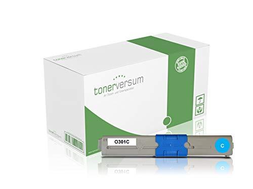 Toner compatibel met Oki 44973535 Cyan voor C301 C301dn C321dn MC332dn MC342 MC342dn MC342dnw laserprinter