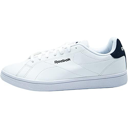 Reebok Royal Complete CLN2, Zapatos de Tenis Unisex Adulto, Multicolor (Blanco/Maruni/Blanco), 42 EU