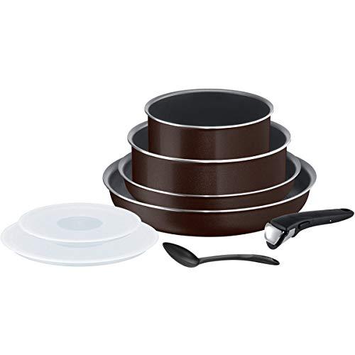 Ingenio Essential Black Coffee Tefal L2389202 8-Piece Set