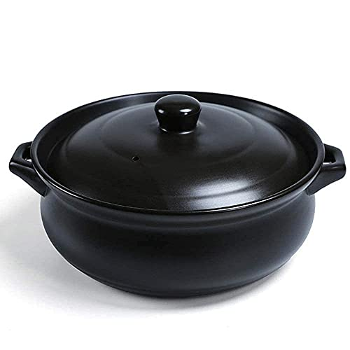 Guiso de cerámica para cocinar - Buen Efecto Aislante Multiuso Duradero Duradero fácil de Limpiar 6.0L_Y y Utensilios de Cocina TINGG (Color : and, Size : Capacity 7.35L)