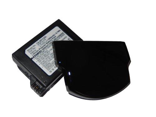 vhbw Batería compatible con Sony Playstation Portable Brite PSP-3000, PSP-3001, PSP-3002, PSP-3004 consola (1800mAh, 3,7V, polímero de litio)