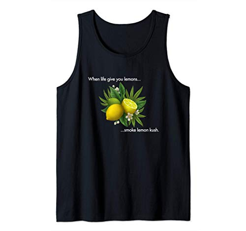 Smoke Lemon Kush Tank Top