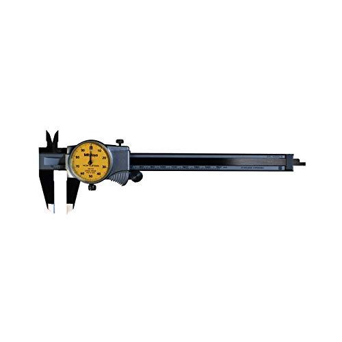 MITUTOYO 505-732 Uhrenmessschieber mit Feststellschraube, Type:, Messbereich 0-150 mm
