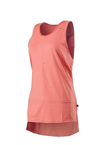 Head Vision Loose Camiseta sin Mangas de Tenis, Mujer, Naranja (Corail), M