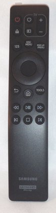 Samsung 4K UHD Blue Ray Player remote control, AK59-00180A