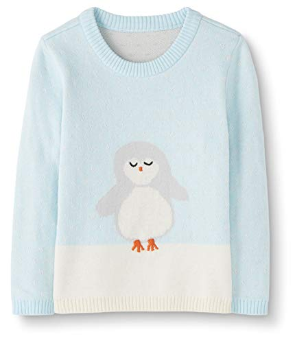 Moon and Back Holiday Infant-and-Toddler-Sweaters, Turquoise Clair, 2 Ans (82-87 CM)