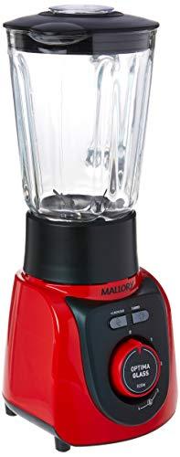Liquidificador Mallory Optima Glass 127v Vermelho/Preto
