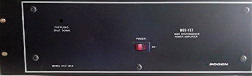 Top 10 Best 125w stereo power amplifier