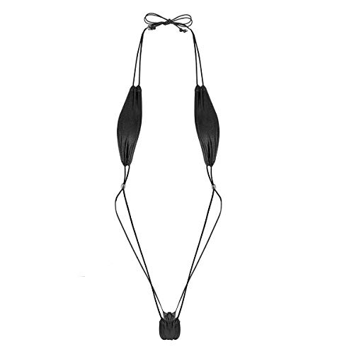 Agoky Womens Extreme Mini Sling Shot Lingerie Micro Bikini Set Extreme Swimsuit Lingerie Black One Size
