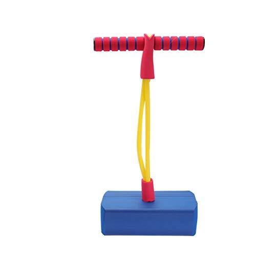 LIOOBO Pogo Jumper Pogo Stick Kinder Pogostick Sicher Hüpfstab Springstock Kinderspiel Langlebig Schaum Bungee Jumper für Jungen Mädchen Erwachsene