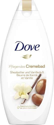 Dove Cremebad Pure Verwöhnung mit Sheabutter und Vanilleduft (1 x 750 ml)