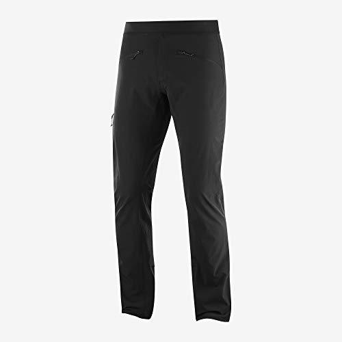 SALOMON Wayfarer Alpine Pant, Pantaloni Uomo, Nero, 48