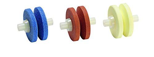 Minosharp Plus, 3 ruote di ricambio per acciaino in ceramica, per modelli 550