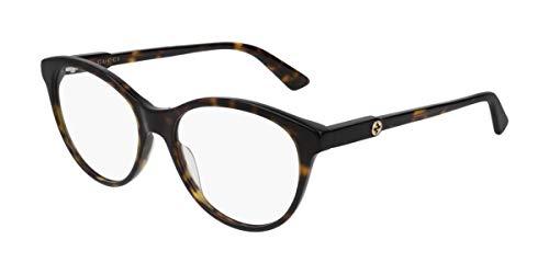Gucci Montatura Occhiali Vista Uomo GG0486O Colore 002 Calibro 54/17