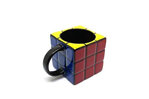 FSYX Taza de cafe Regalo único Taza de cubo de Rubik personalizada, taza de té de cerámica con estilo de café, jugo de leche Taza de limón Bebida de oficina en casa01