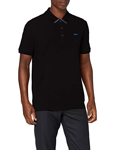 HUGO Mens Daruso203 Polo Shirt, Black(001), XL