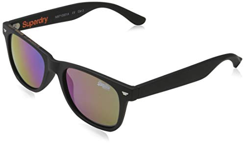 Superdry Mens SUPERFARER Sunglasses, Rubberised Black, One Size