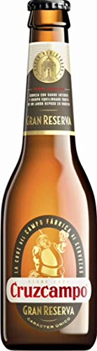 Bier Cruzcampo Gran Reserva 24x33cl (Pack 24 Flaschen)