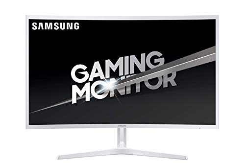 Samsung C32JG51 - Monitor Curvo Gaming de 32'' (Full HD, 4 ms, 144 Hz, LED, VA, 16:9, 3000:1, 1800R, 250 cd/m², 178°, HDMI, Base en V) Blanco