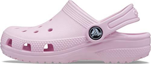 Crocs Unisex Kinder Classic K Clogs, Ballerina Pink, 30/31 EU