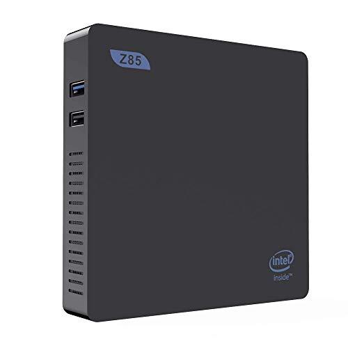 DIGITALKEY Mini Pc Z85 mit 2 GB RAM 64 GB CPU Scheibe X5-Z8350 - Intel HD 400 Graphics - WiFi 2.4 und 5 ghz - Windows 10