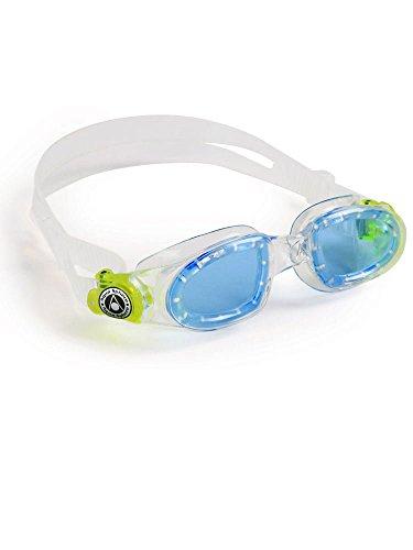 Aqua Sphere Moby Kid Swim Goggle (Blue/Transparent)