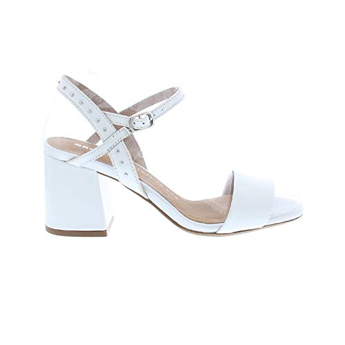 Bronx Jagger 84734-H Sandales Mode Femme, schuhgröße_1:41, Farbe:Blanc