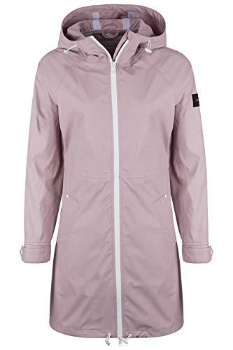 ECOALF Damen Regenmantel Picton Dusty Pink - XL