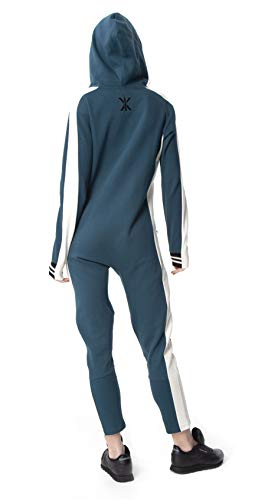 OnePiece Damen Unisex Rider Jumpsuit, Grün (Dark Green), Medium - 2