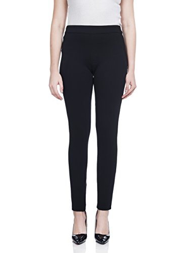 Soshow Women Pull on Pants Petite Ultra Soft Baisc Leggings Lady's Stretchy Rayon Trousers