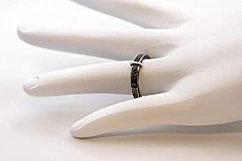 Claires Darkened Ring- 935 Sterling Silver Outlandish Ring- Engravable-Skölland Jewelry