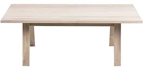 24Designs Salontafel Jorck - L130 X B70 X H45 Cm - Eiken White Wash