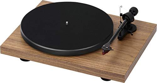 Pro-Ject Debut Carbon DC - Giradischi con cartuccia Ortofon, 2 m, colore: Noce opaco