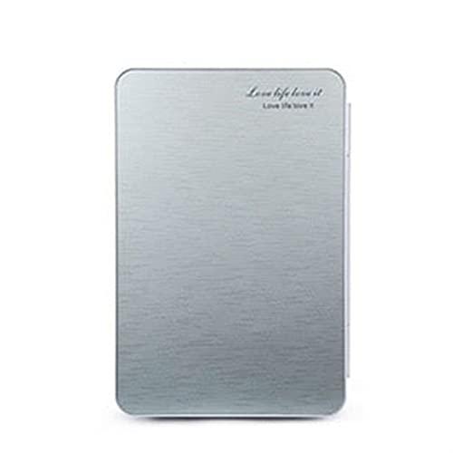 MCYAW Refrigerador de automóviles 20L Inicio/Coche Mini Uso de Doble Uso Caja fría y Caliente 42 * 27 * 33 CM Refrigerador de Coche (Color Name : Space Silver)