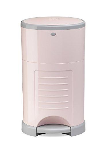 日本育児 Color Korbell おむつポット 本体 ピンク 収納たっぷり容量16L