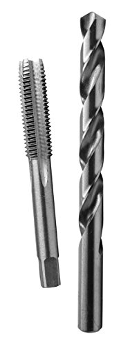 Century Drill & Tool 97519 12.0x1.25 Metric Tap and 27/64' Drill Combo Pack