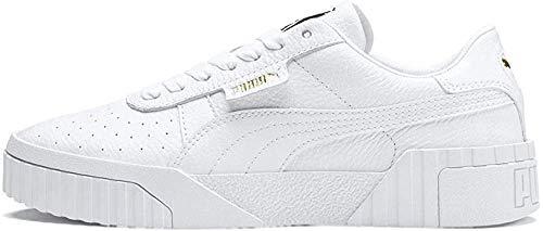 PUMA Damen Cali Wn S Sneaker, White White, 39 EU