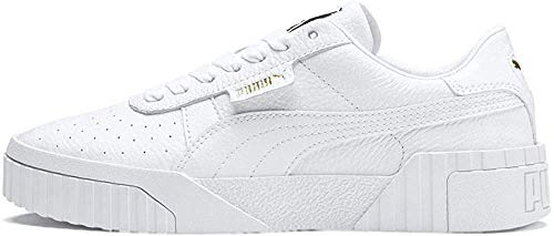 PUMA Damen Cali Wn's Low-Top Sneakers, Weiß White White, 38.5 EU